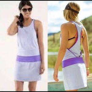 Lululemon blissed our purple dress/ cover up 6